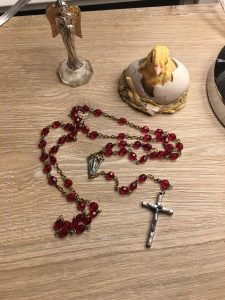 Molly Jo's Journals: The Red Rosary