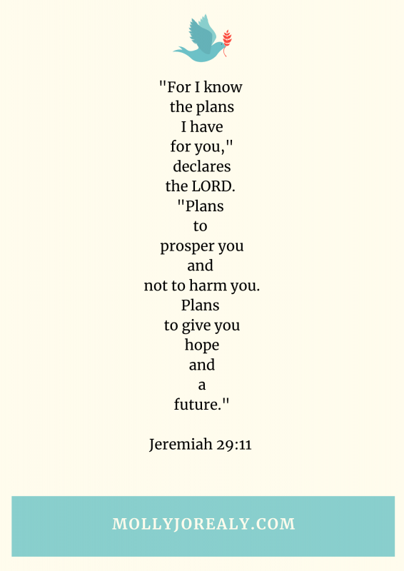 Molly Jo's Journals: Jeremiah 29:11