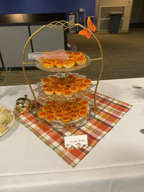 Molly Jo's Journals: Writing and Tea Salon: Savory Tartlets