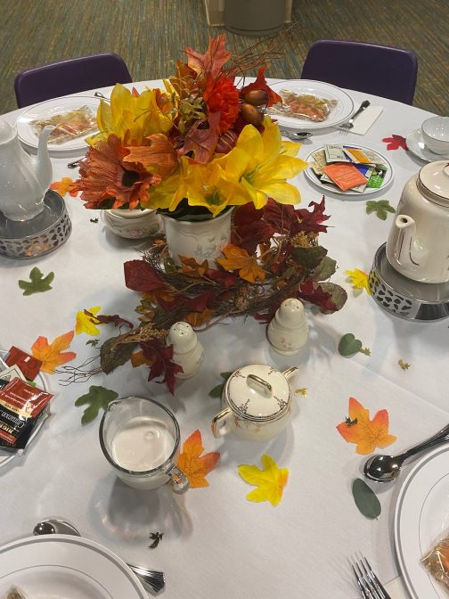 Molly Jo's Journals: Writing and Tea Salon: Table Display
